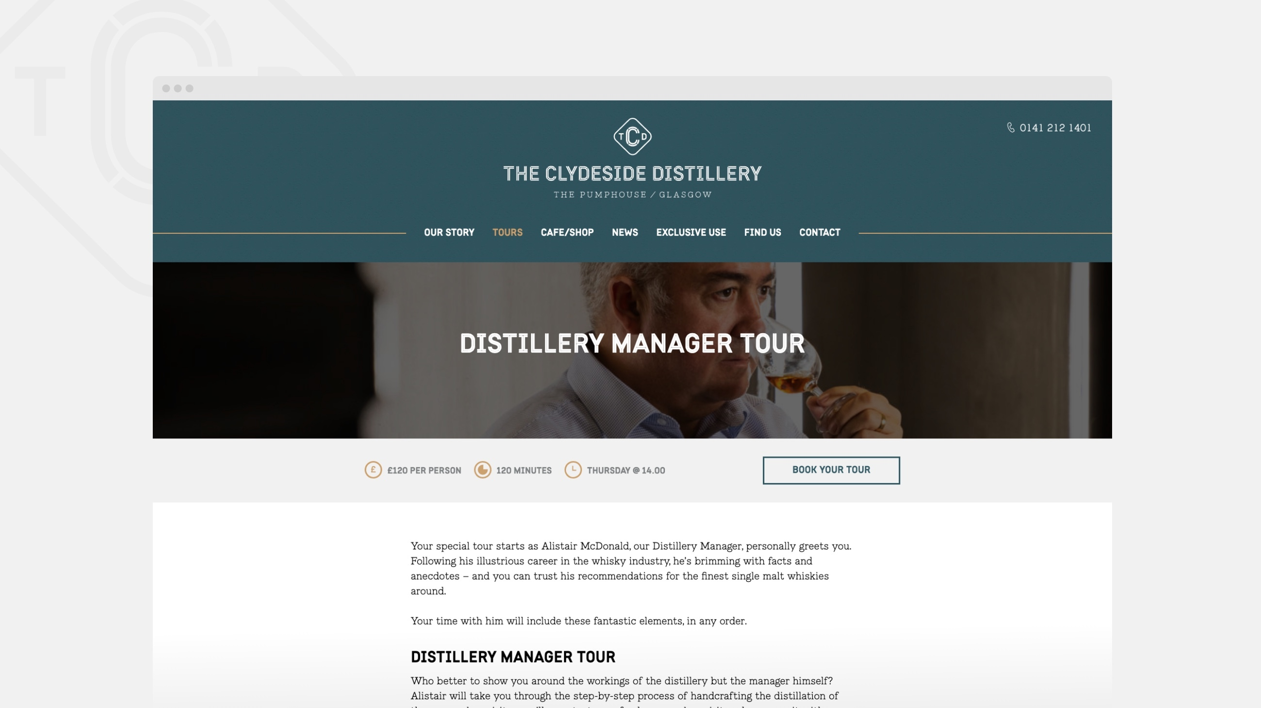 The Clydeside Distillery Desktop